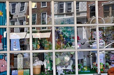Window Shopping Print by Todd Hostetter