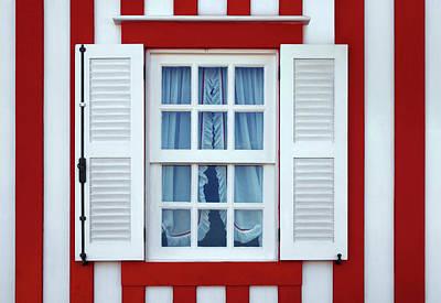Window Stripes Print by Carlos Caetano