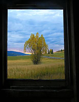 Window To My Soul Print by Bill Keiran