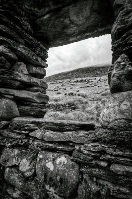 Snowdonia Photograph - Window To Tryfan by Dave Bowman