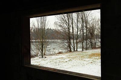 Window To Winter Print by Karol Livote