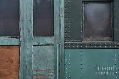 Windows And Doors Print by Dan Holm
