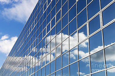 Mirror Glass Photograph - Windows Cloud by Tim Gainey