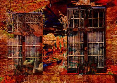 Digital Art - Windows To The Soul by Sarah Vernon