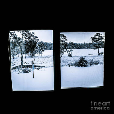 Windows To Winter Print by Jorgo Photography - Wall Art Gallery