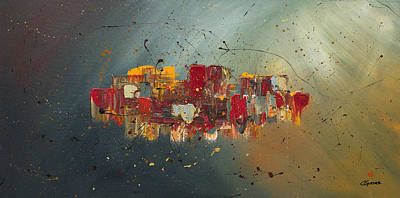 Prosperity Painting - Winds Of Prosperity by Carmen Guedez