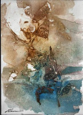 Abstracto Mixed Media - Windsurf by Elena Petrova Gancheva