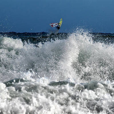 Surf Lifestyle Photograph - Windsurfer by Stelios Kleanthous