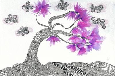 Windsweapt Dreams Print by Heart Art