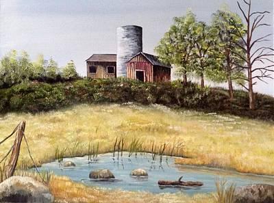Windy Meadows Original by Martin Schmidt