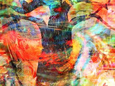Yesayah Painting - Windy Moments by Fania Simon