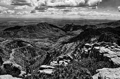 Mountain Photograph - Windy Point No.12 by Mark Myhaver