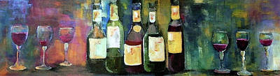Wine Painting - Wine Country Classic by Lisa Kaiser