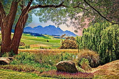 Wine Country Print by Maria Coulson