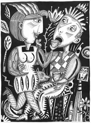 Wine Down Original by Betty Wick