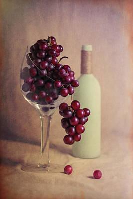 Grape Photograph - Wine On The Vine by Tom Mc Nemar