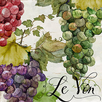 Vin Painting - Wines Of Paris II by Mindy Sommers