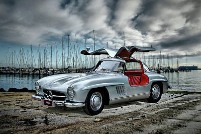 Photograph - Winged Merc by Steven Agius