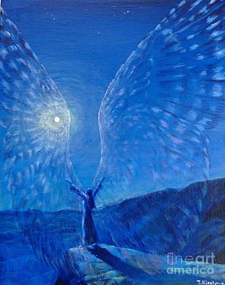 Winged Print by Tatiana Kiselyova