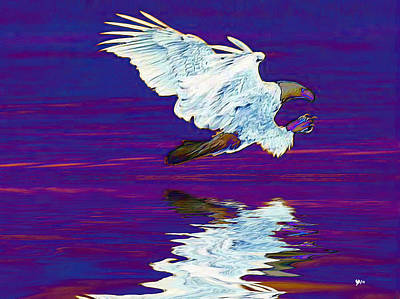 Wings By God Print by Wayne Bonney