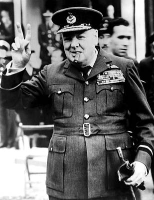 Csx Photograph - Winston Churchill, 1961 by Everett