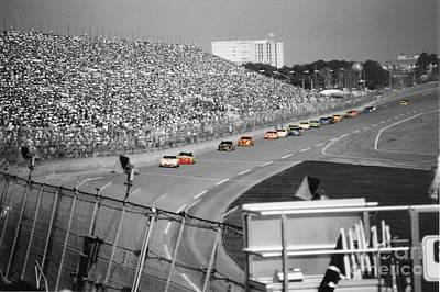 Daytona 500 Photograph - Winston Cup Racing In Daytona 1995 by John Black
