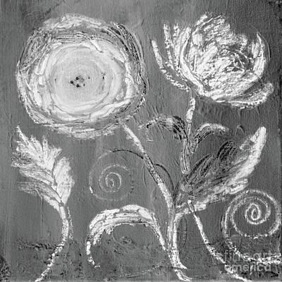 Digital Art - Winter Bloom II by Robin Maria Pedrero