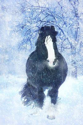 Winter Faith Print by Jamie Mammano