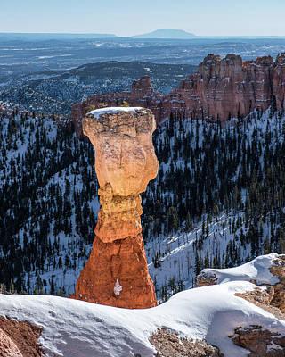 Bryce Canyon National Park Photograph - Winter Hoodoo by Joseph Smith