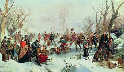 Ritchie Painting - Winter In Saint James's Park by John Ritchie