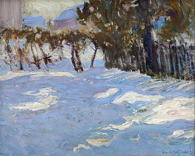 Painting - Winter In Thornhill Village by James Edward Hervey MacDonald