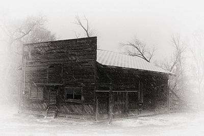 Farms-n-barns Photograph - Winter In Wyoming 2 by Nicholas Blackwell