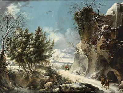 Painting - Winter Landscape by Francesco Foschi