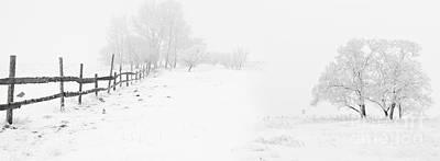 Yosemite Painting - Winter Landscape - Let It Snow by Celestial Images