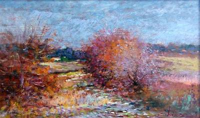 Winter Landscape - Toscana Original by Biagio Chiesi