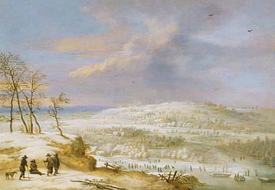 Winter Print by Lucas van Uden
