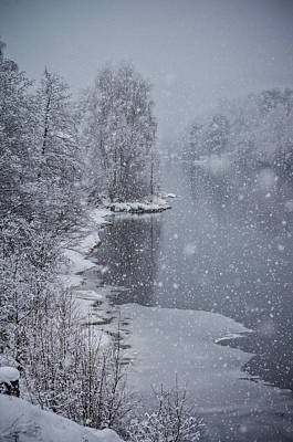 Mandal Photograph - Winter Magic by Mirra Photography