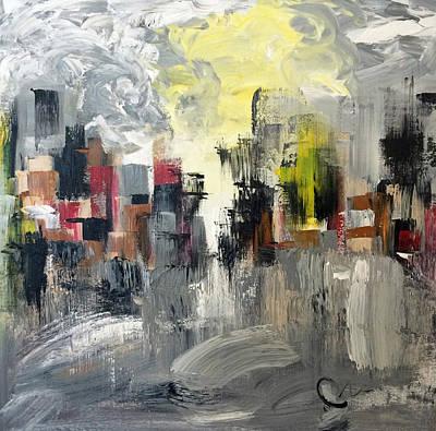 Painting - Winter Night by Mac Worthington