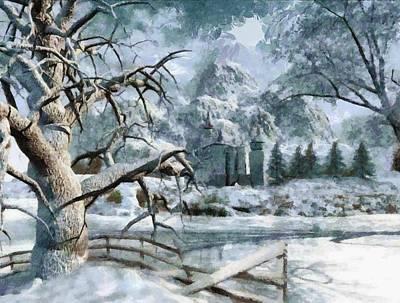 Photograph - Winter Paradise by Mario Carini