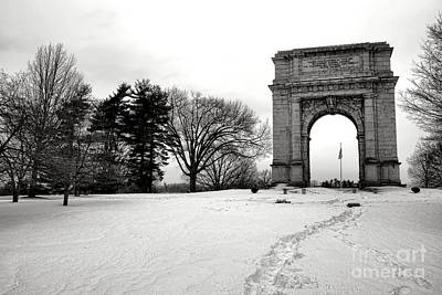 Valley Forge Photograph - Winter Path To Glory by Olivier Le Queinec