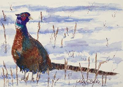 Winter Plumage Original by Mary Benke