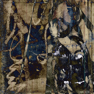 Winter Rains Series Four Of Six Print by Carol Leigh