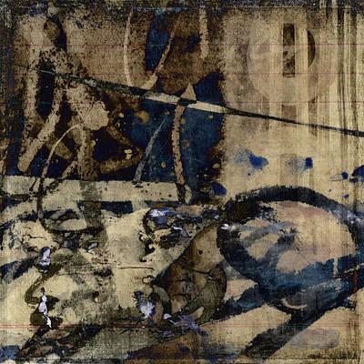 Winter Rains Series One Of Six Print by Carol Leigh