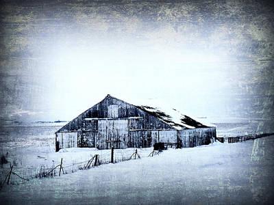 Winter Scene Print by Julie Hamilton