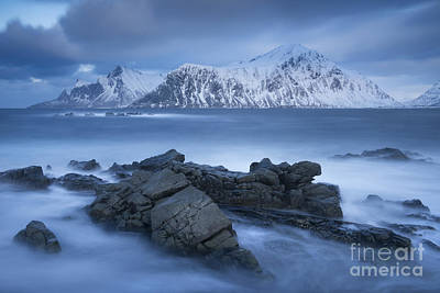 Lofoten Photograph - Winter Smoke by Timm Chapman