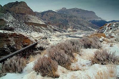 Winter Train Trip.. Print by Al  Swasey