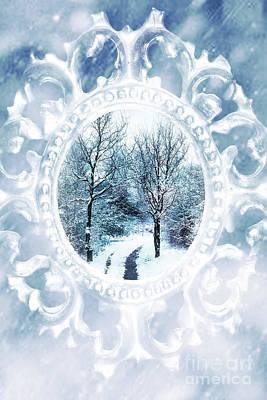 Winter Trees Photograph - Winter Wonderland by Amanda And Christopher Elwell