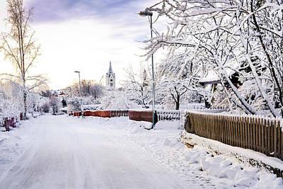 Winter Wonderland Print by Marius Sipa