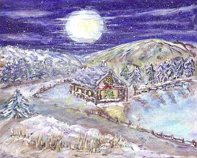Painting - Winter Wonderland by Mary Sedici