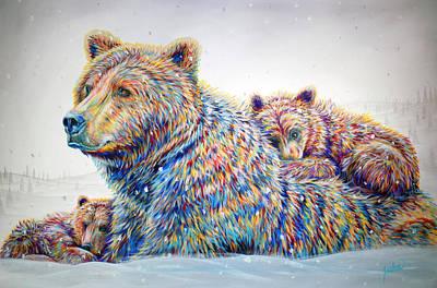 Painting - Winter Wonderland by Teshia Art
